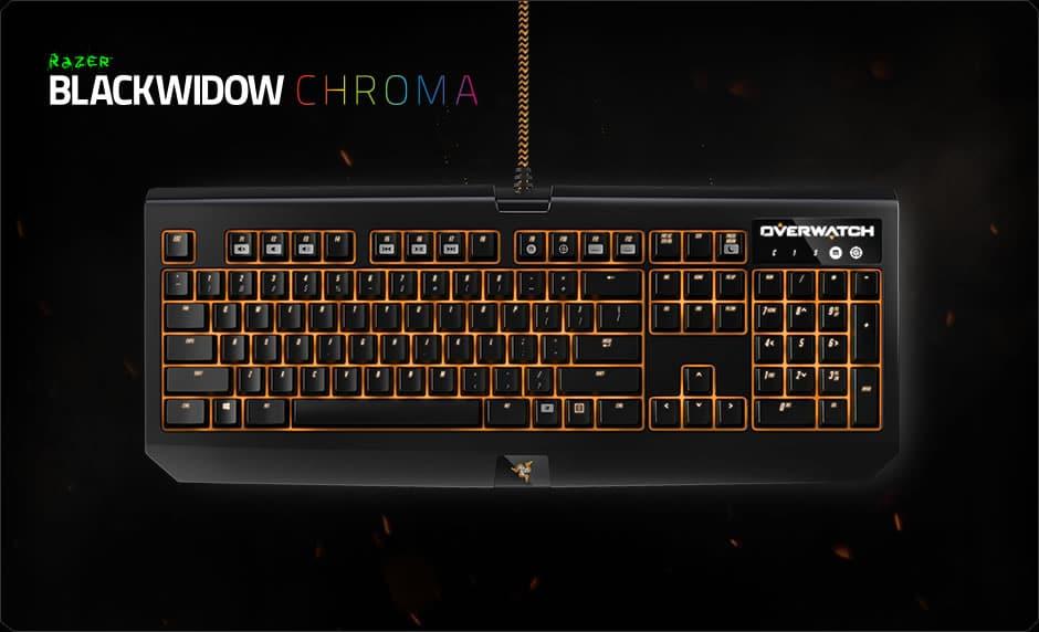 Razer BlackWidow Chroma Overwatch
