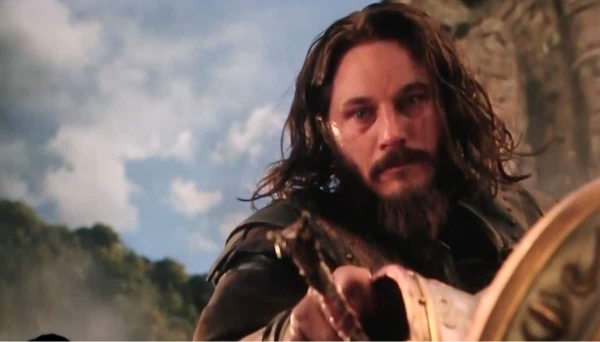 Travis Fimmel en su papel de Warcraft.