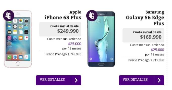4G en Iquique: Apple y Samsung lideran la oferta de equipos 4G LTE en WOM.