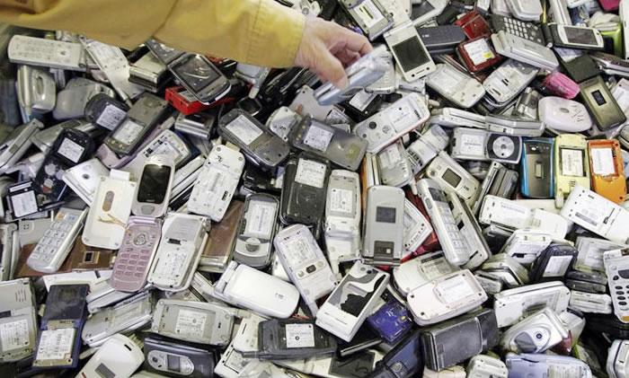 Basura electronica e-waste