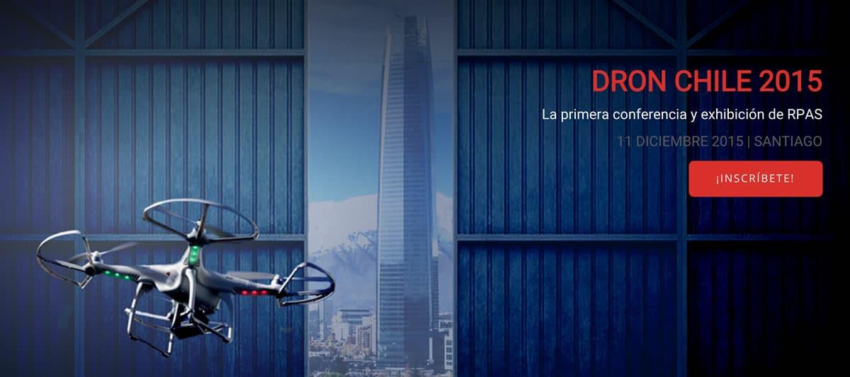 El primer evento masivo de drones en Chile.