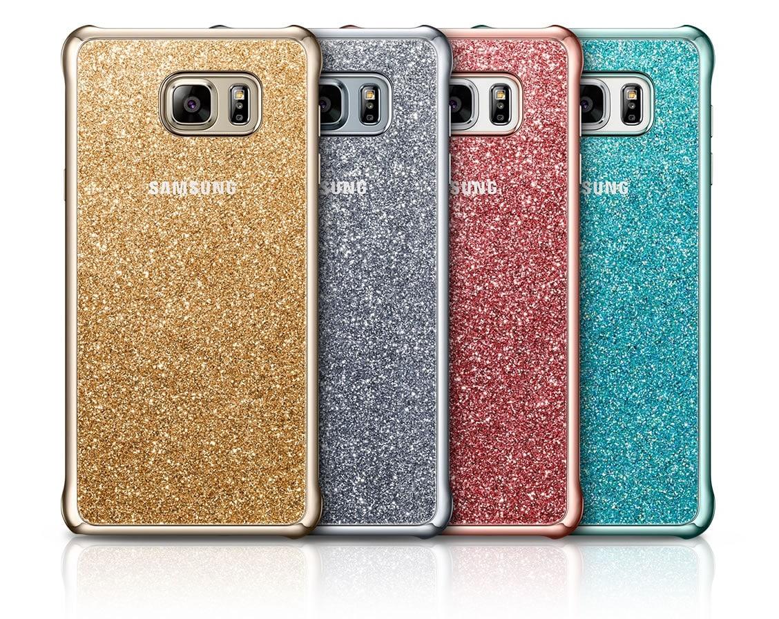 Glitter Cover, la más llamativa de todos los protectores para el Galaxy Note 5.