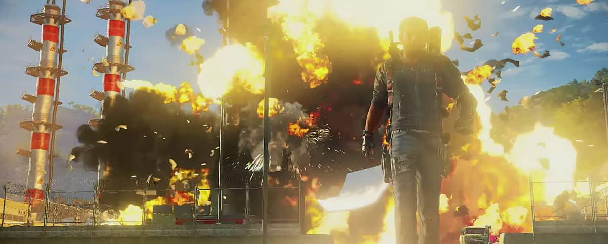 Lo que más promete Just Cause 3 son explosiones.
