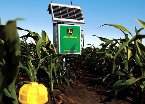 Internet de las cosas en la agricultura puede reflejarse en sensores como este.