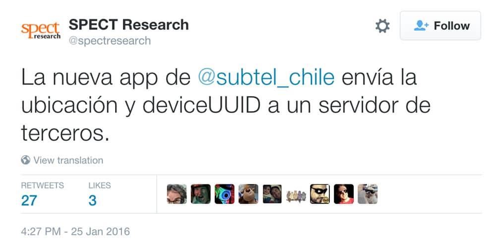 Tweet SPECT Research App SUBTEL Cursor