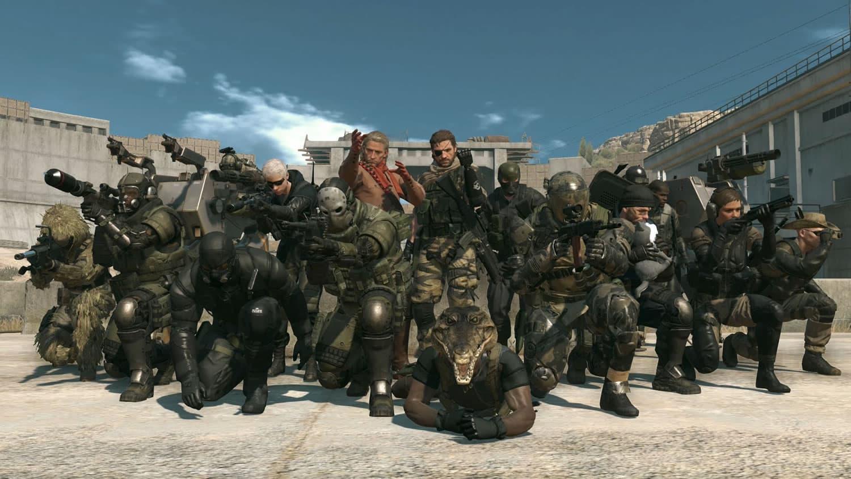Metal Gear Online.