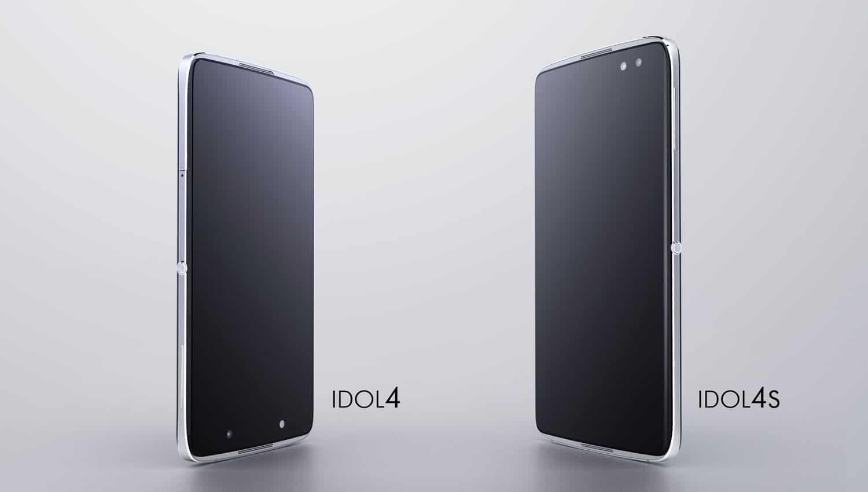 Alcatel IDOL 4 y IDOL 4S.