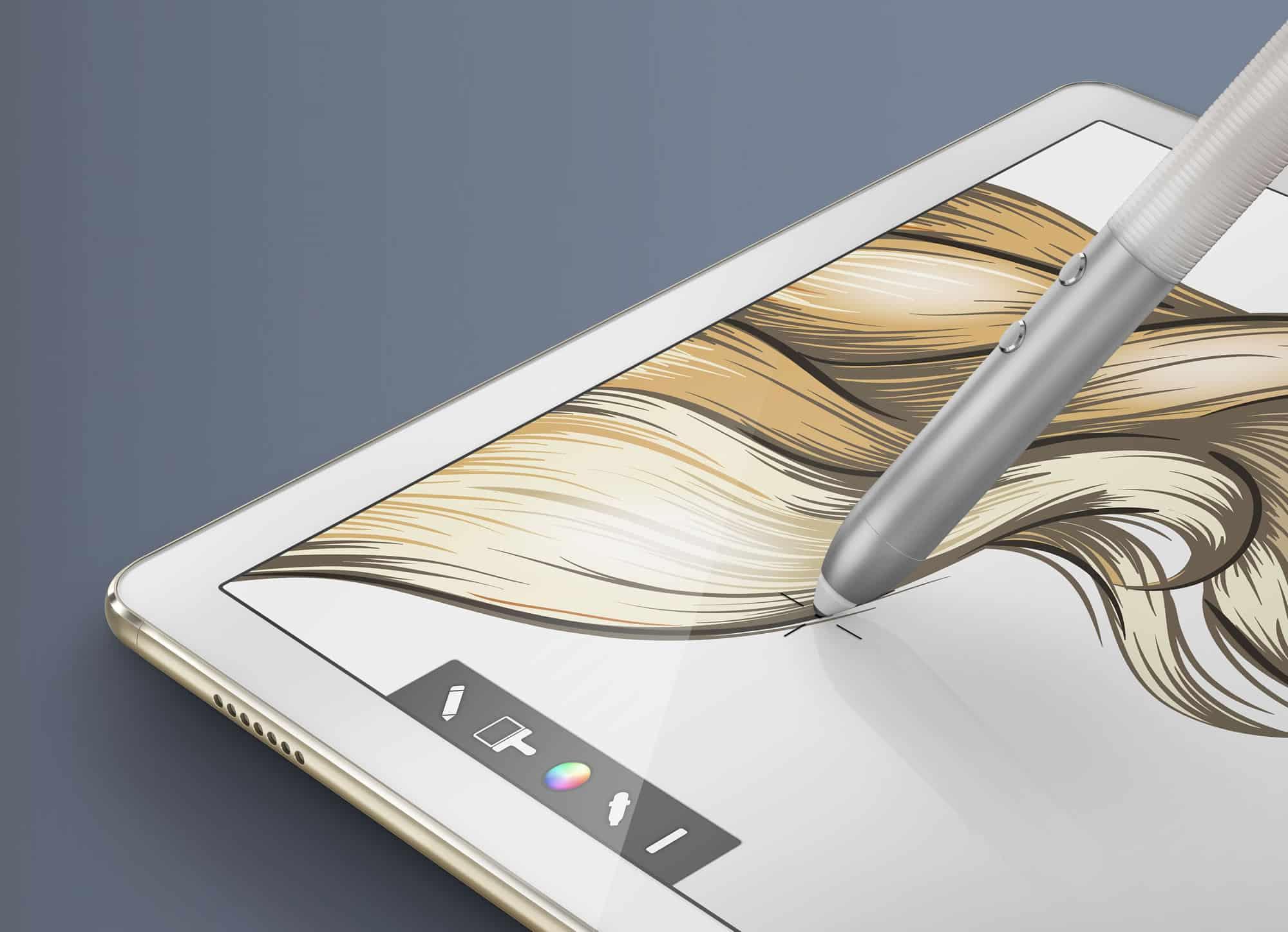 Huawei MateBook con MatePen.