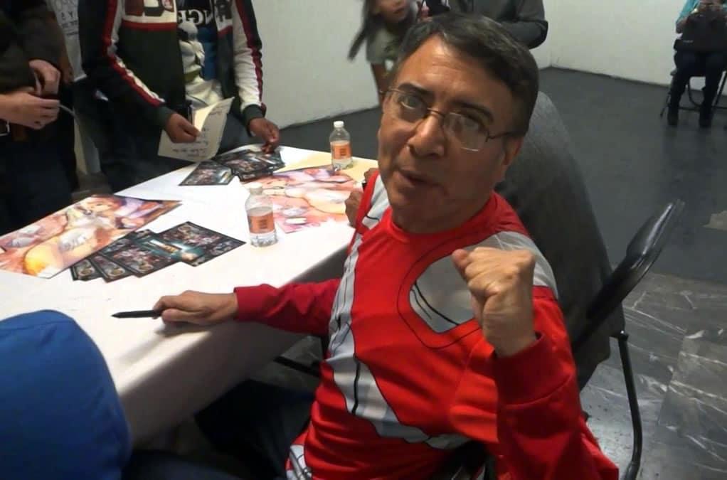 Jesús Barrero en una firma de autógrafos.