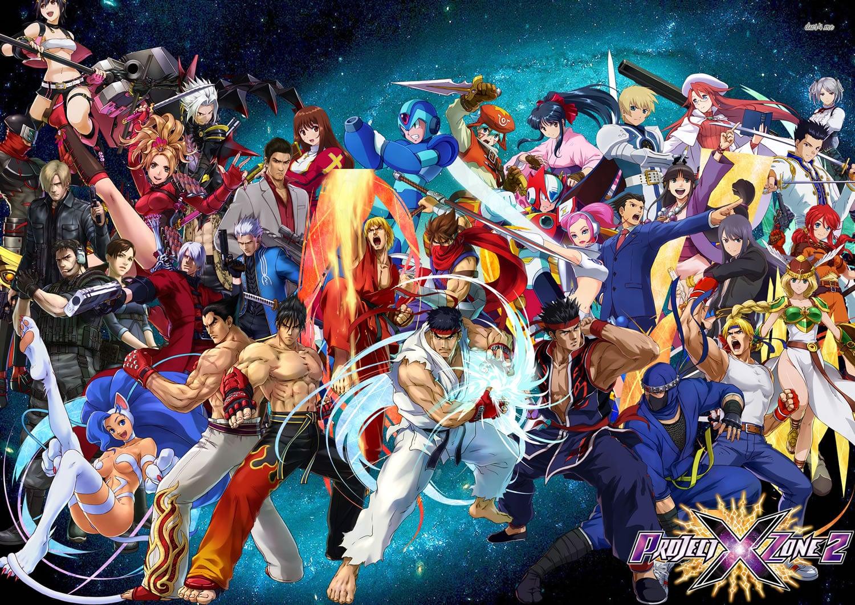 Personajes de Project X Zone 2.