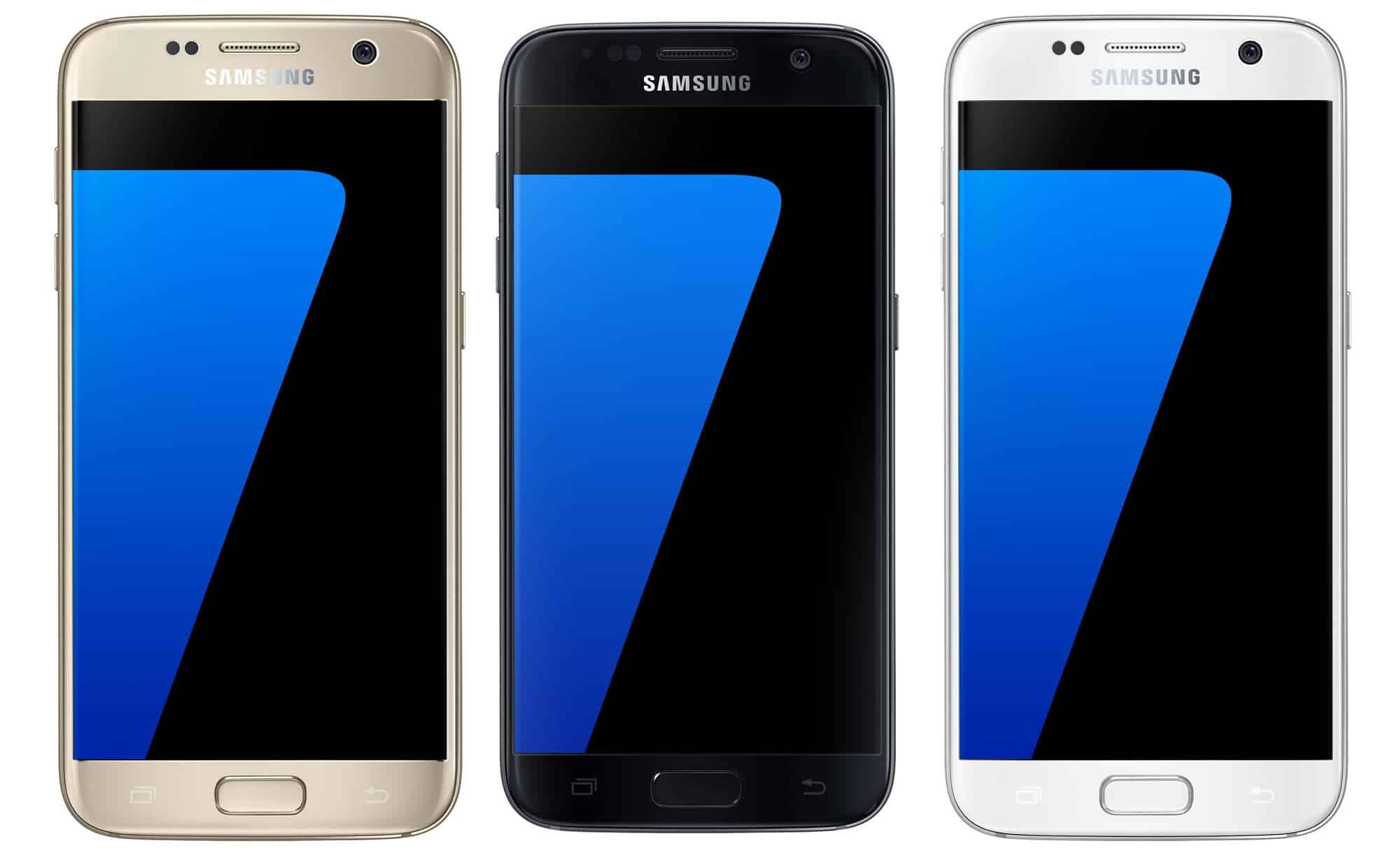 Samsung Galaxy S7 de frente