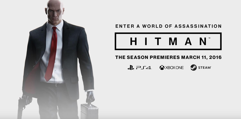 Hitman va a estar disponible oficialmente el 11 de marzo.