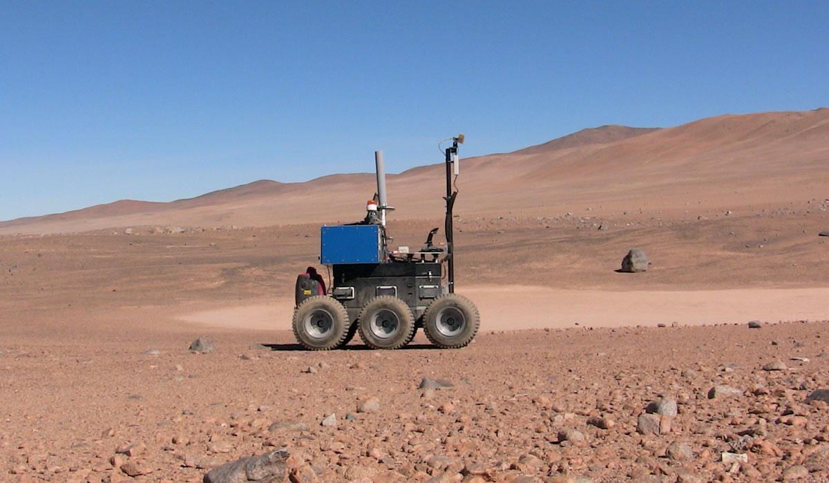 NASA estará trabajando en Chile por futuras misiones a Marte.