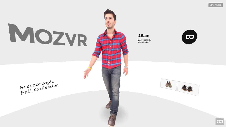 Videojuegos y otras aplicaciones en la Web también pueden ser presentadas como realidad virtual.