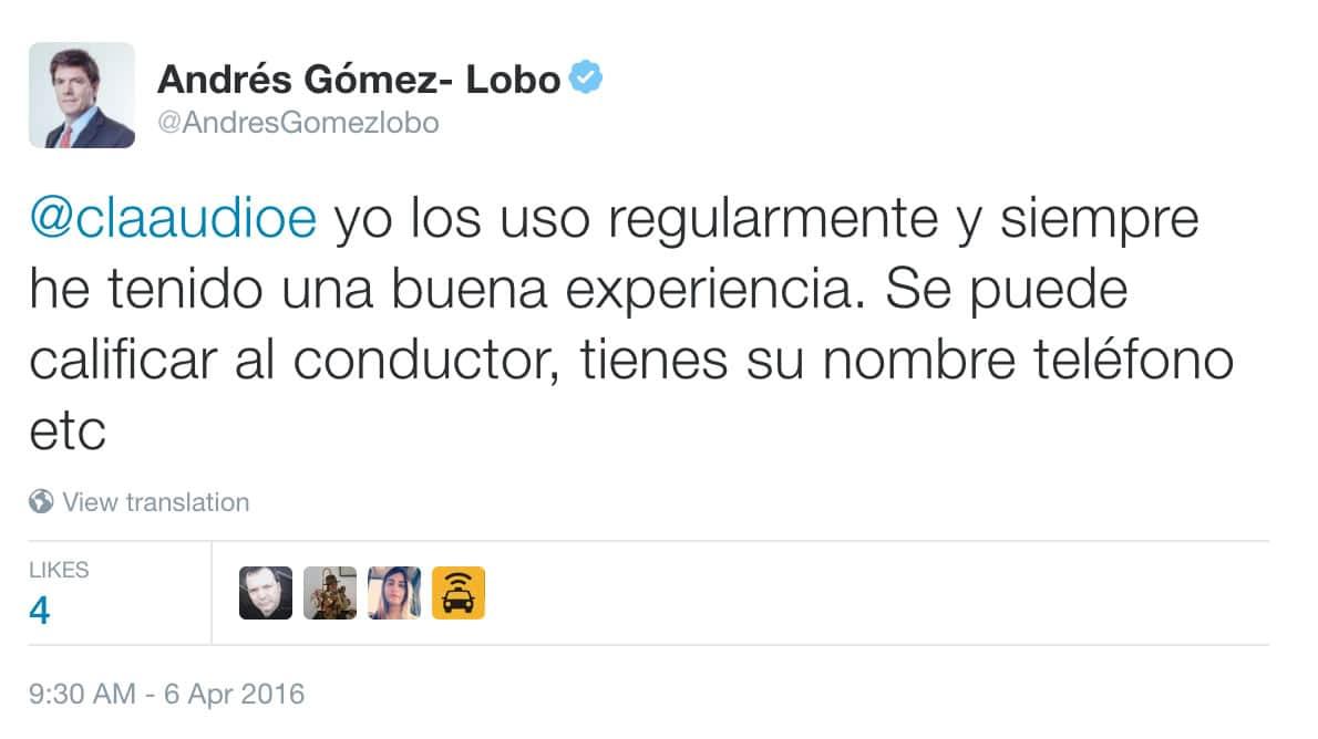 Andres Gomez-Lobos Twitter Uber 02