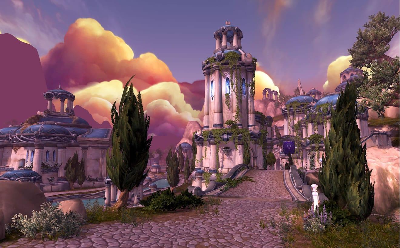 Otra captura de World of Warcraft: Legion.