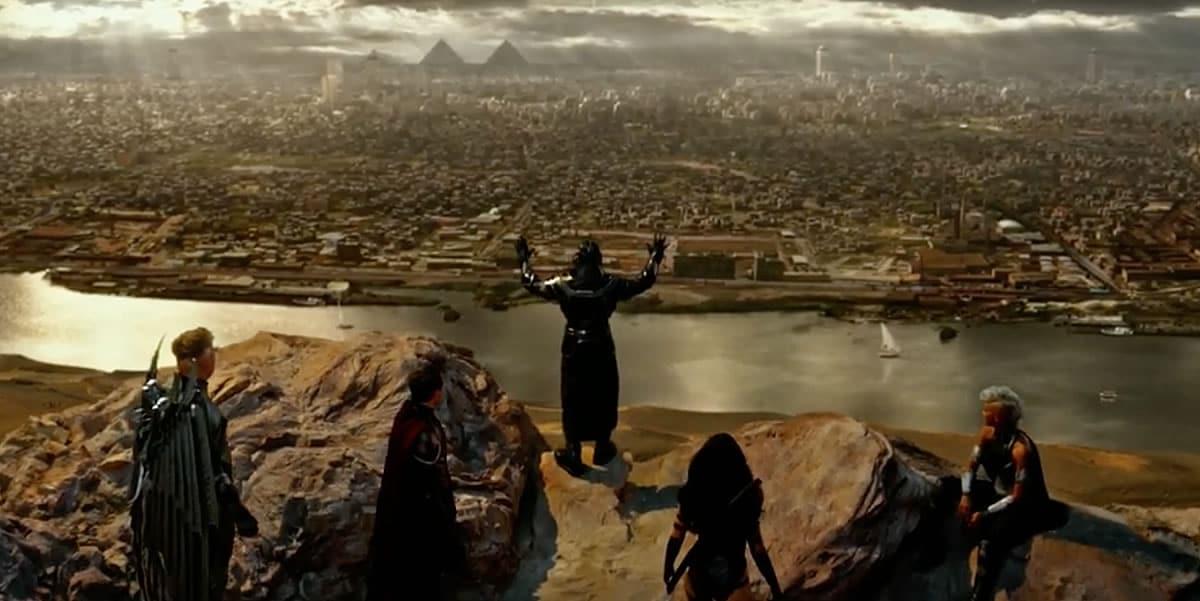 Los cuatro jinetes muestra el rol de los antagonistas de la película.