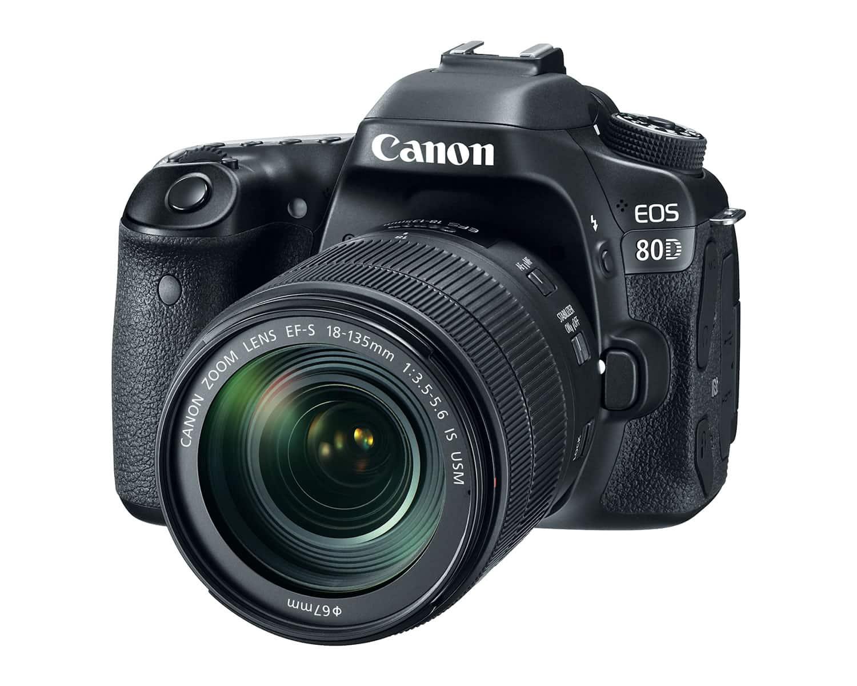 Canon EOS 80D.