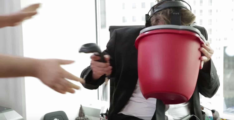 La realidad virtual le pasó la cuenta a Derek Westerman.