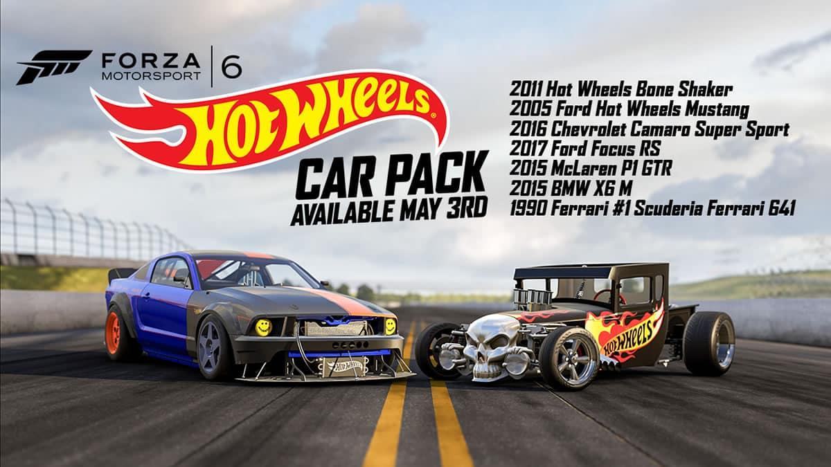 Hot Wheels Car Pack.