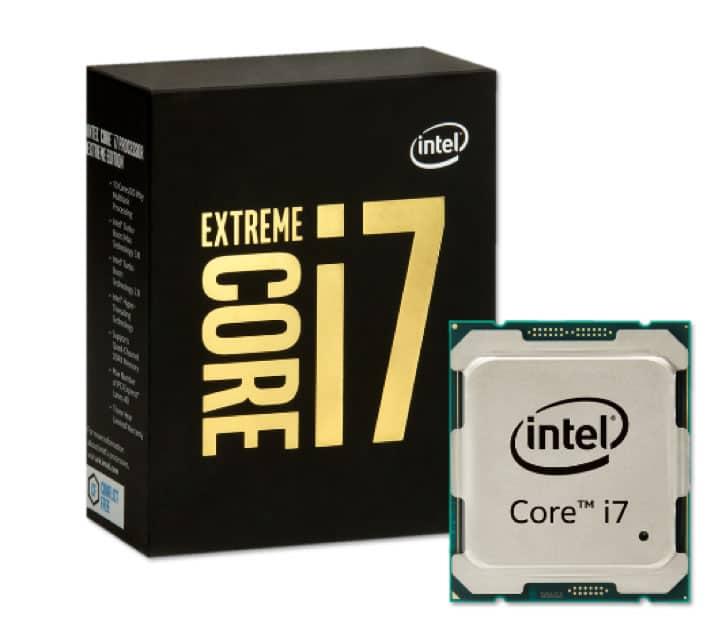 Core i7 Extreme Edition vendrá en versiones de 6, 8 y 10 núcleos.