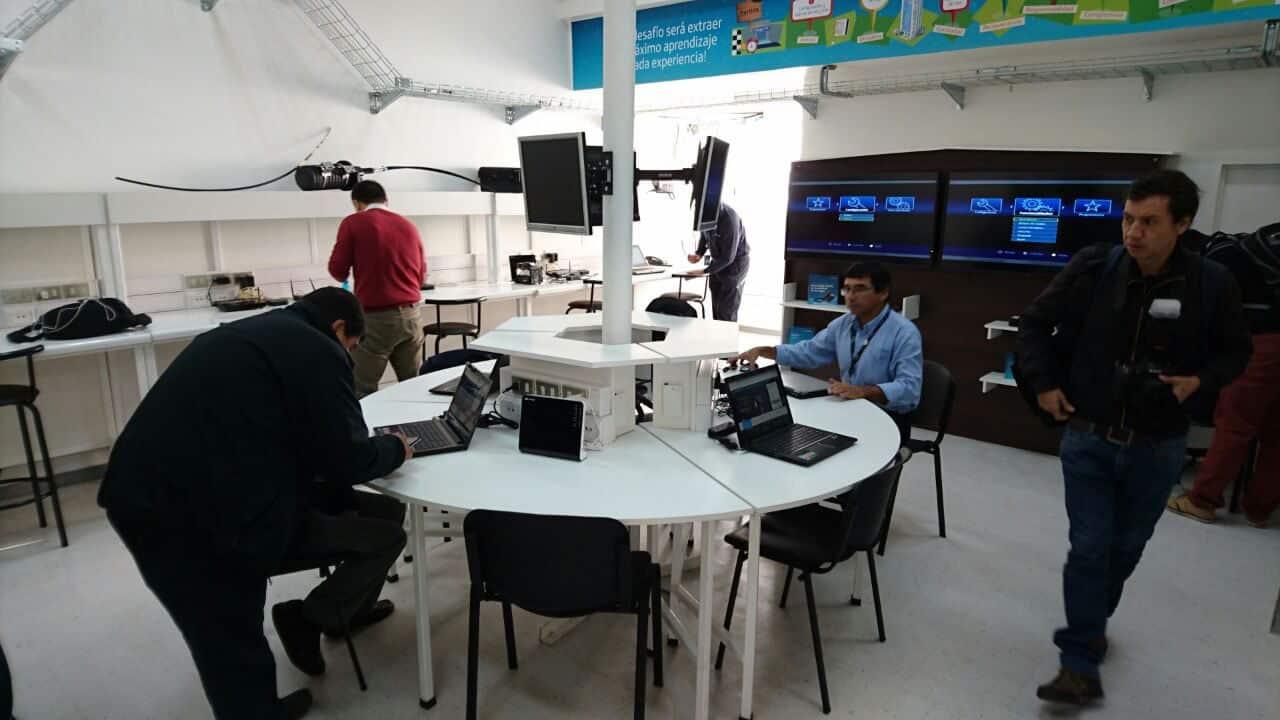 Así luce el laboratorio inaugurado en Valparaíso.