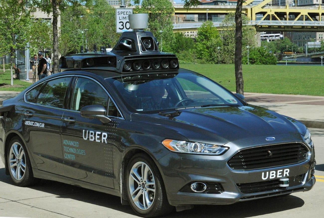 Uber ATC Car.