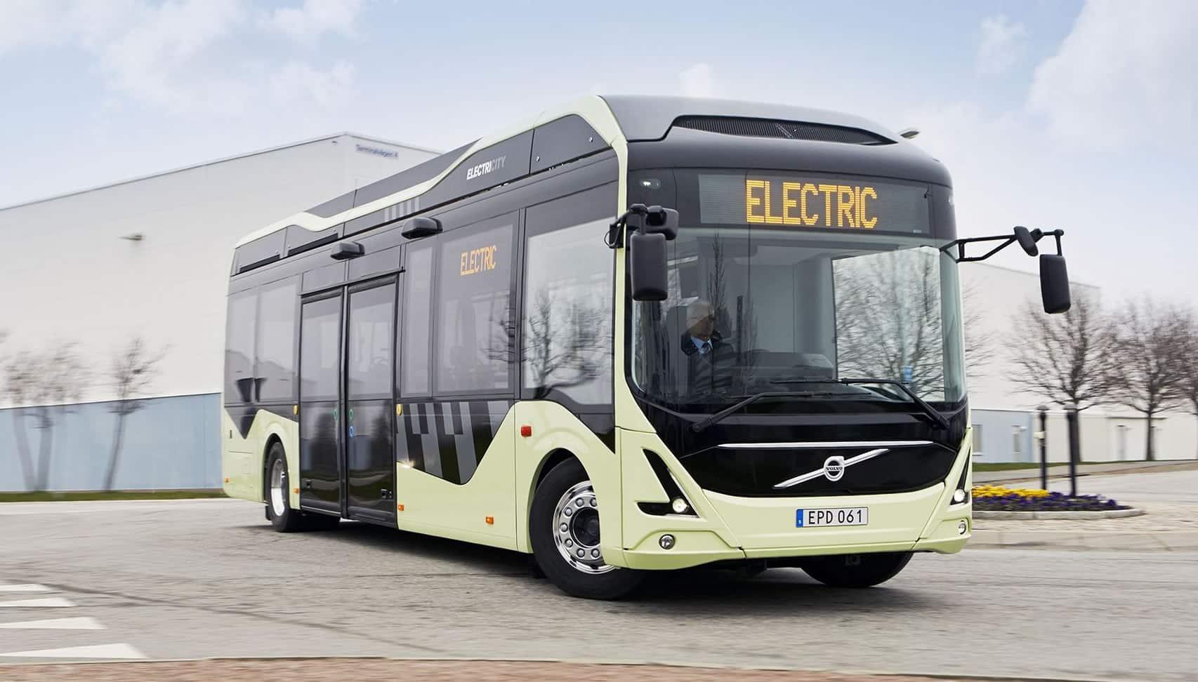 Un ejemplo de transporte eléctrico introducido en Suecia.