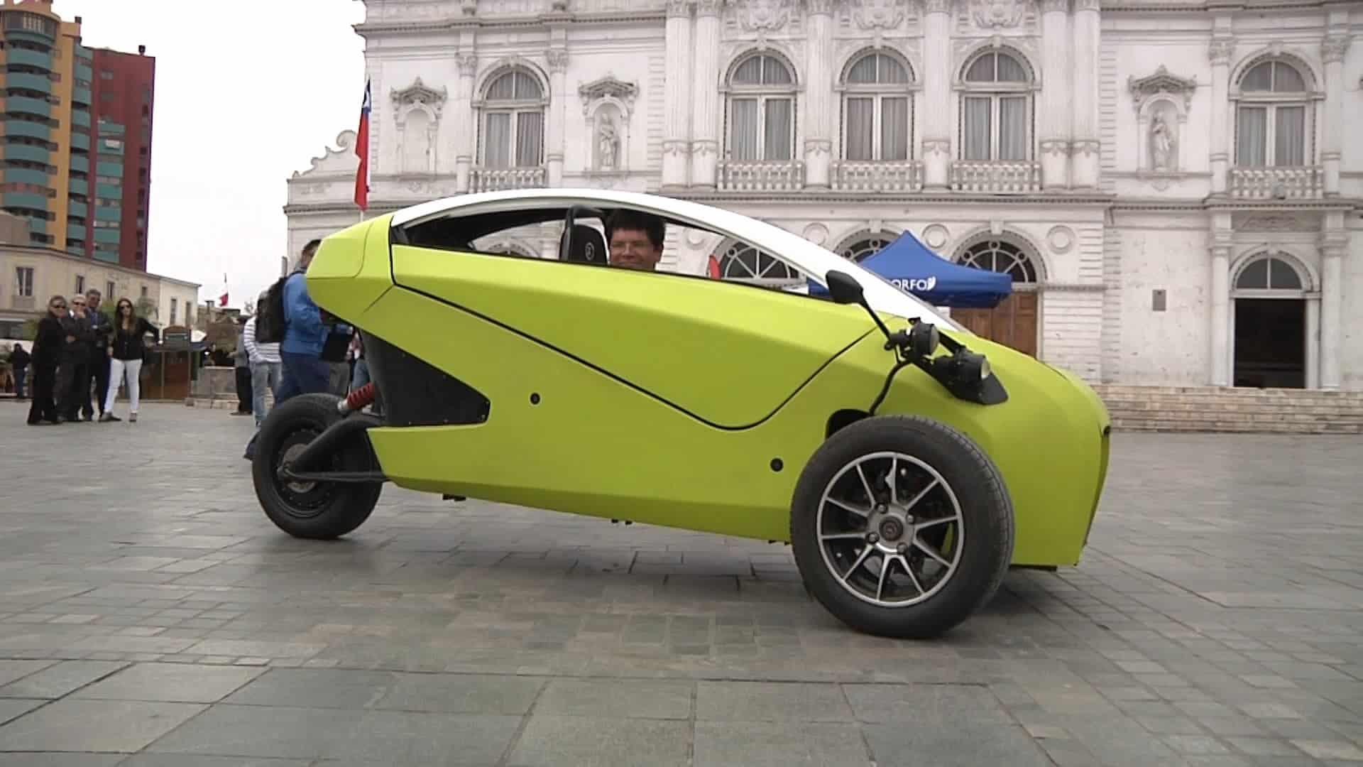 El automóvil eléctrico SOKI será una de las atracciones en 'Creo en Chile'.