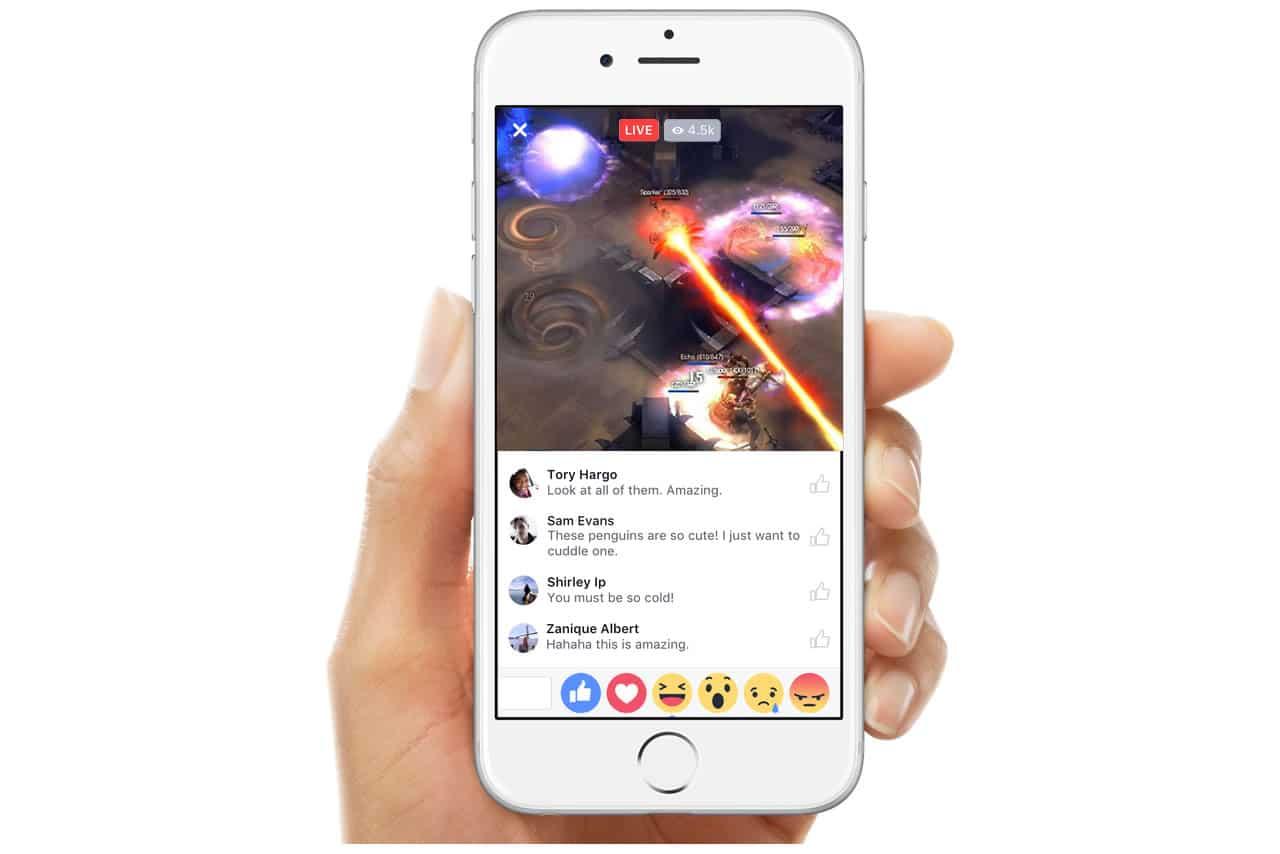 Tus juegos de Blizzard podrías transmitirlo por Facebook Live.