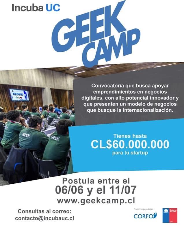 Geek Camp novena convocatoria
