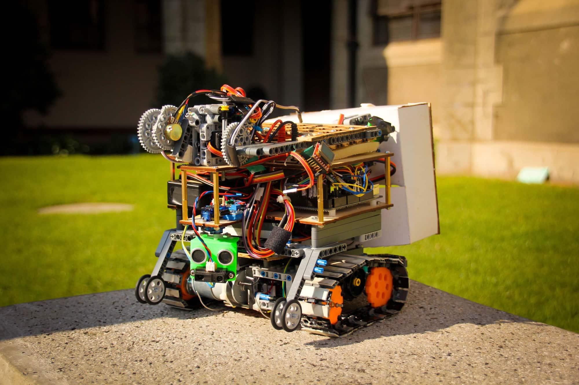 La selección participará con este modelo en la competencia robótica de Alemania.