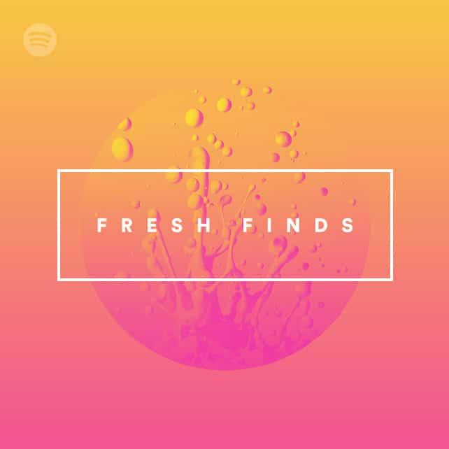 Fresh Finds en Spotify es un ejemplo de cómo opera el algoritmo.