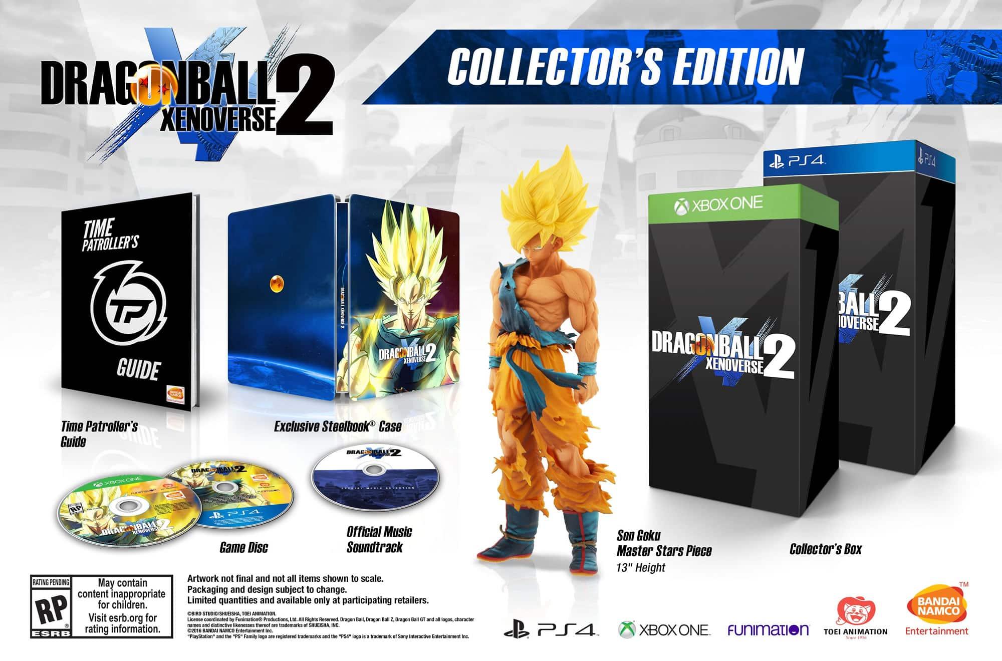 Dragon Ball Xenoverse 2 Edicion Coleccionista