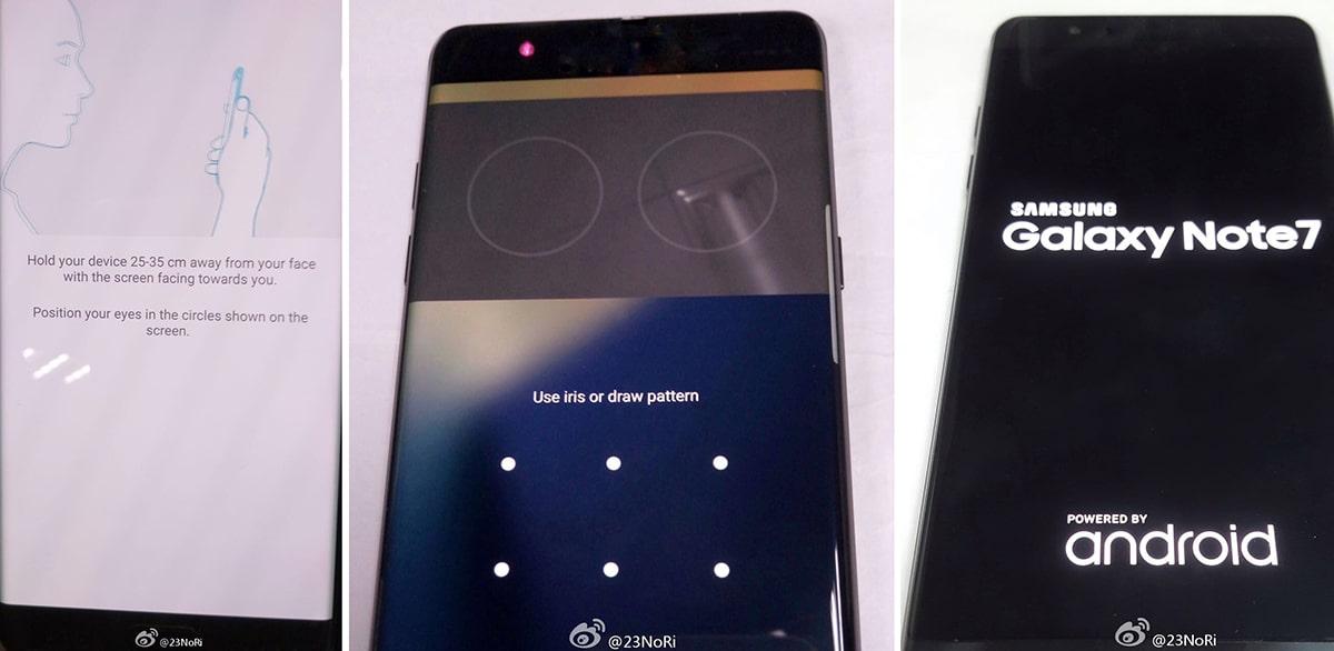 Así funcionaría la lectura de ojos en el Galaxy Note 7.