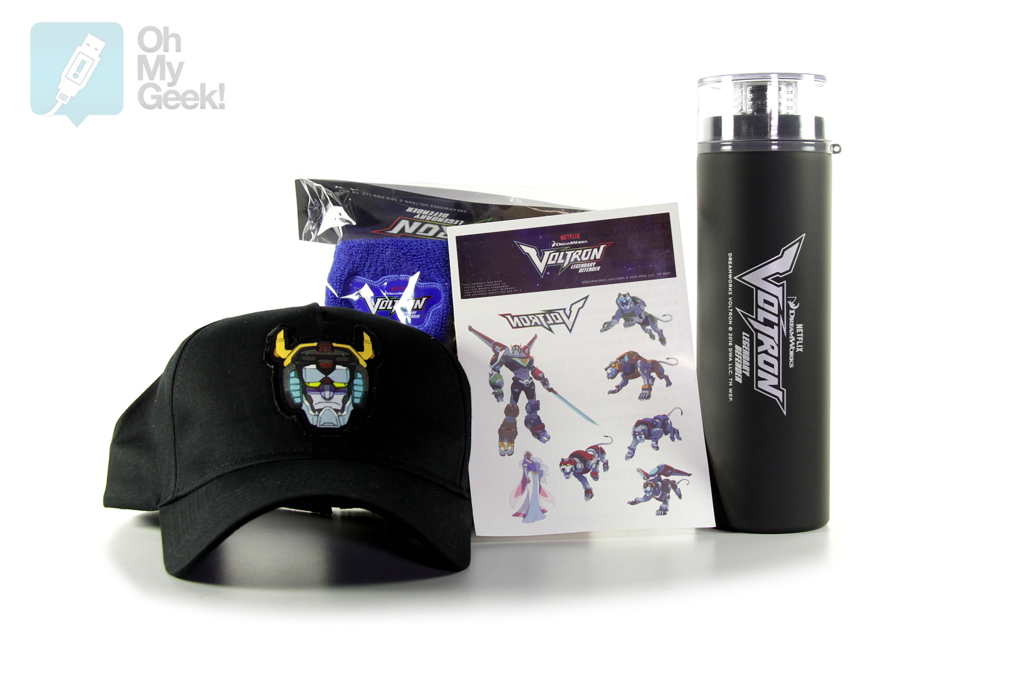 Kit de Voltron: El Defensor Legendario.