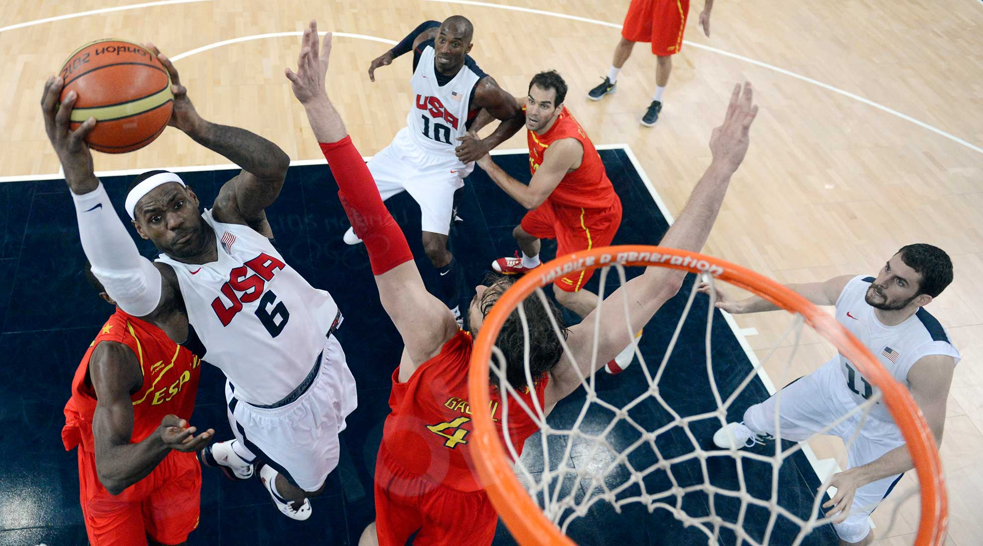 El basketball masculino de los Juegos Olímpicos será uno de los deportes disponibles en VR.