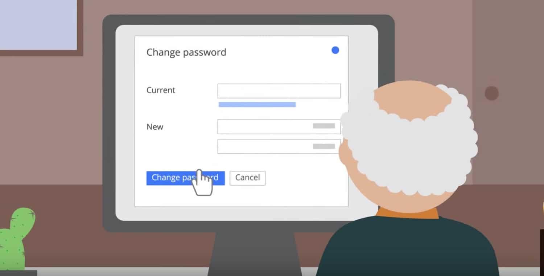 Crear una password fuerte es uno de los consejos de Google Chile.