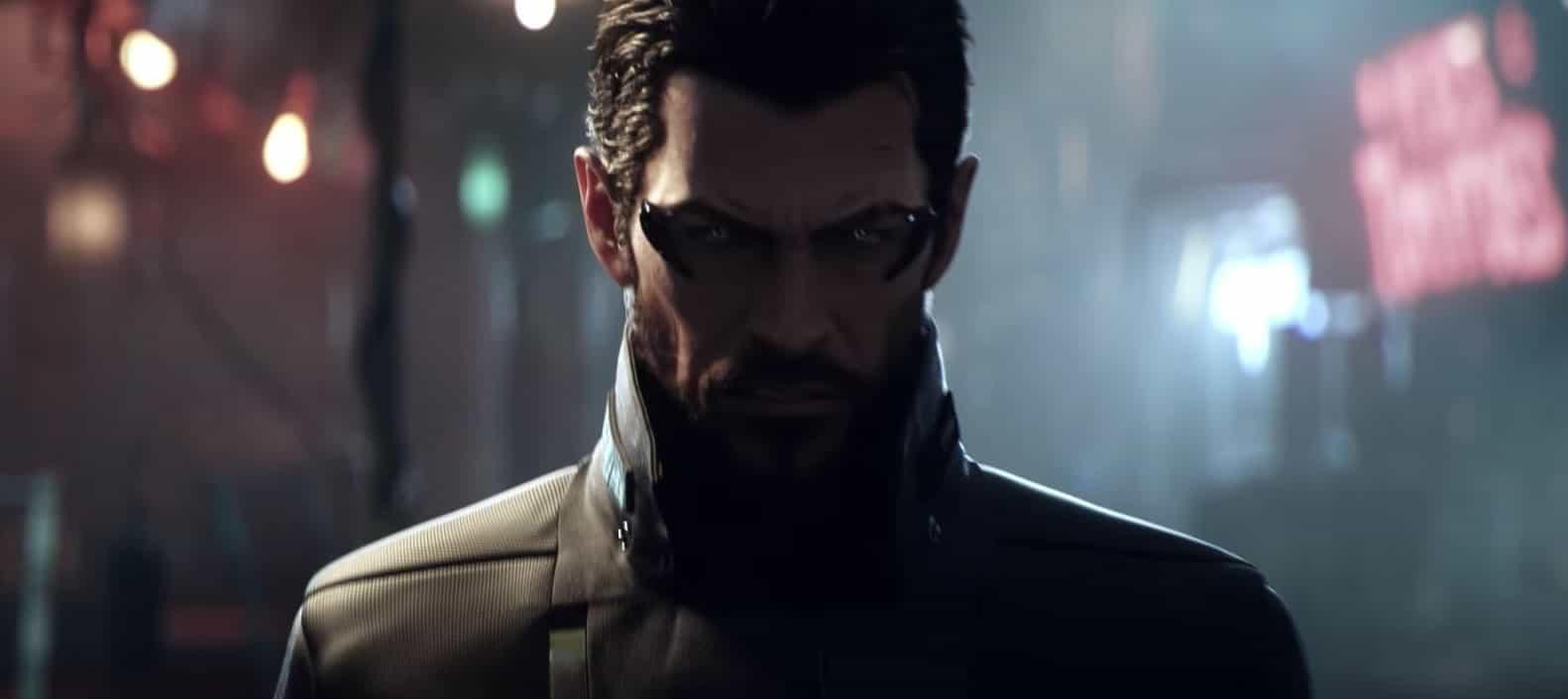Adam en Deus Ex: Mankind Divided.