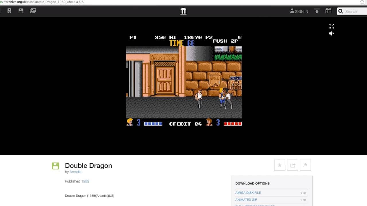 Sólo necesitas tu browser para jugar los títulos de la Commodore Amiga.