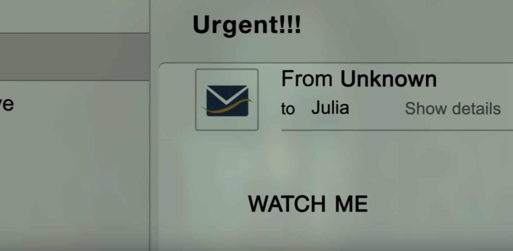 Samara ahora es millennial y envía mails con su video en El Aro 3.