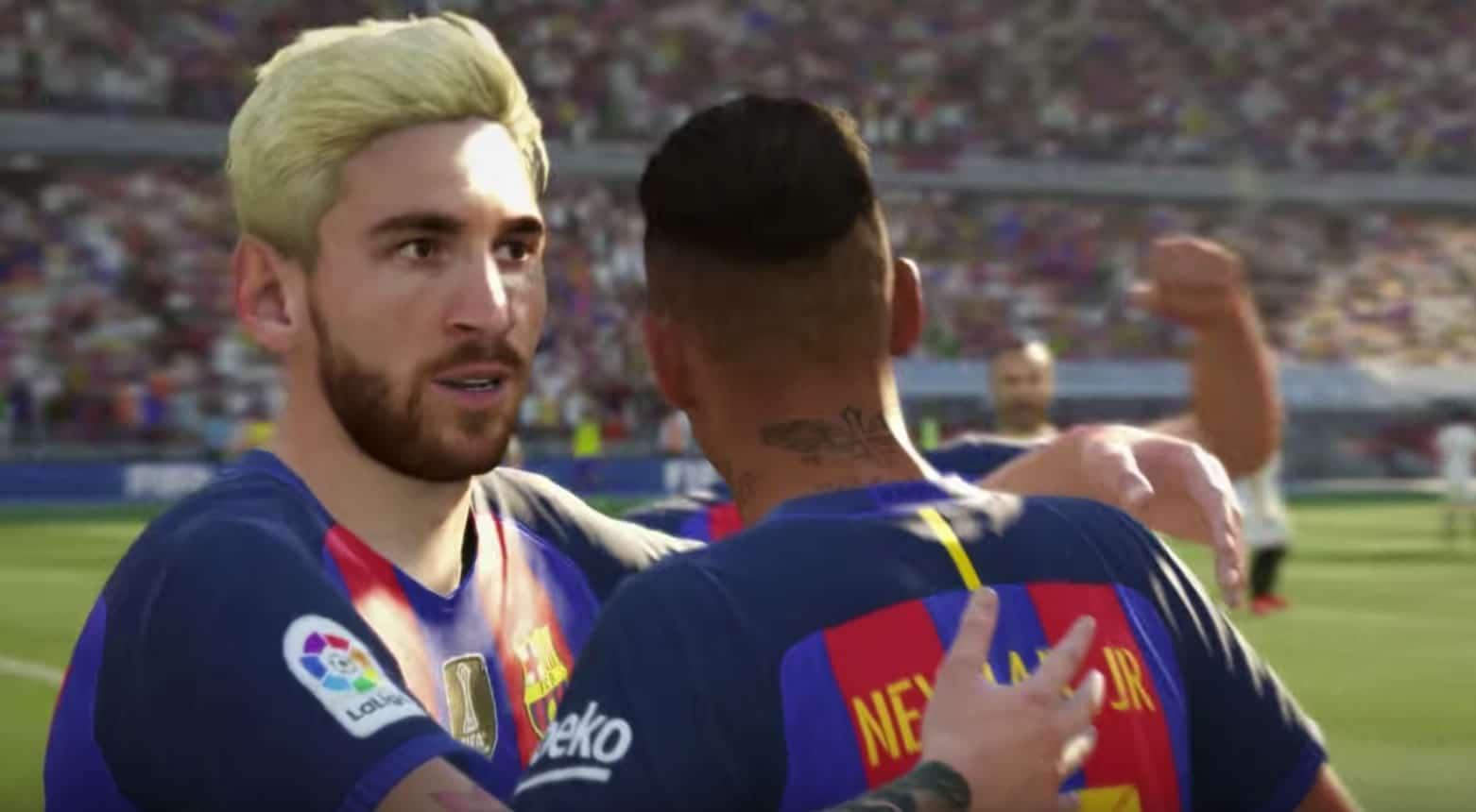 Messi aparece con su look de vendedor de helados en el trailer de FIFA 17.