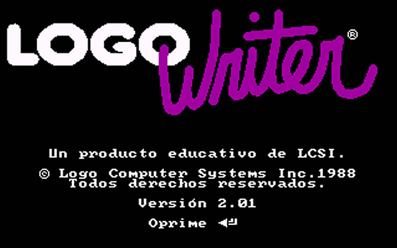Logo Writer.