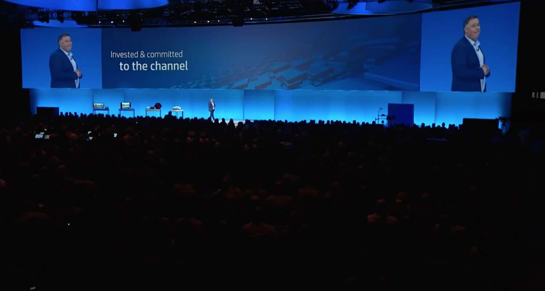 La compra de las impresoras de Samsung se anunció en HP Global Partner Conference.