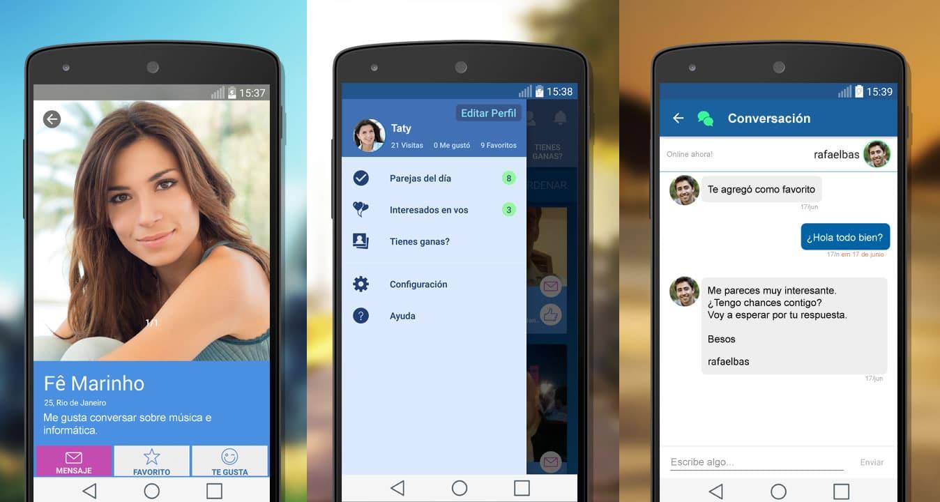 Match.com App móvil.