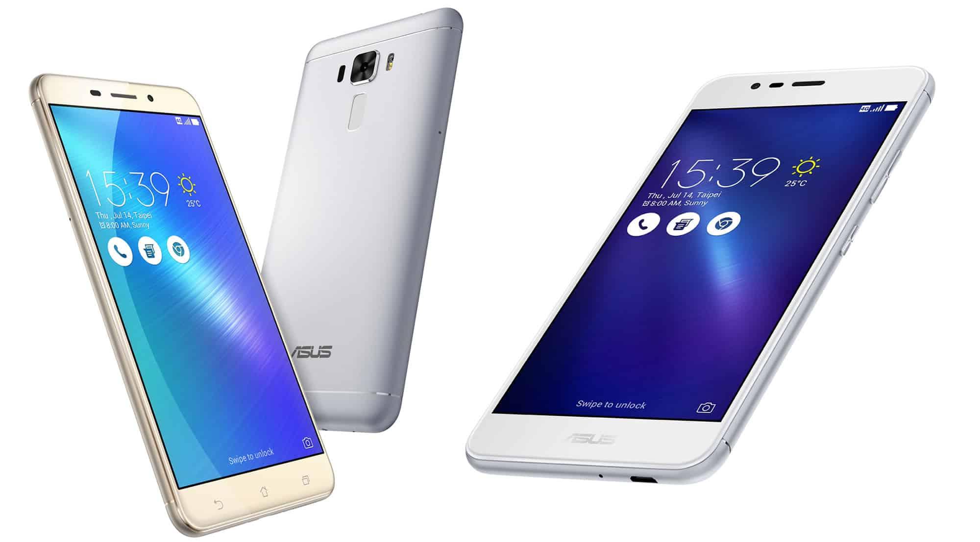 Zenfone 3 Max y ZenFone 3 Laser.