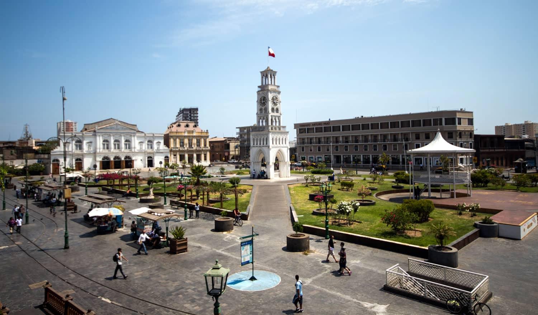 Plaza Arturo Prat de Iquique ahora cuenta con Wi-Fi gratuito.
