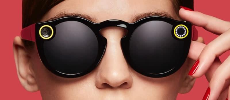 Spectacles de Snapchat.