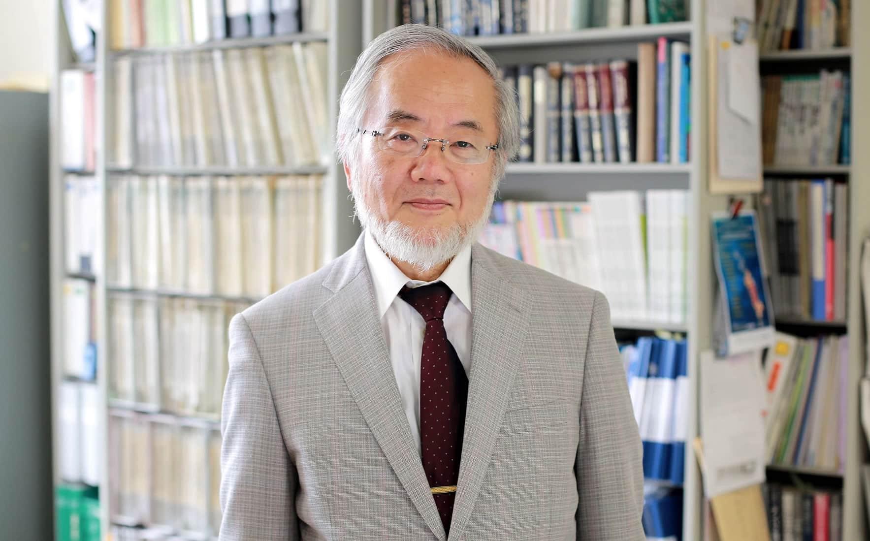 Yoshinori Ohsumi, ganador del Premio Nobel de Medicina.