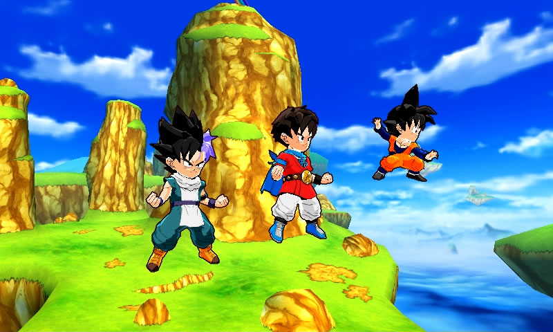 Dragon Ball Fusions.
